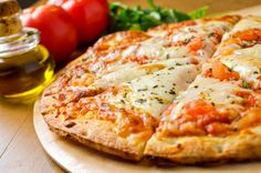 Delightfully Simple and Light Margherita Pizza - A Pinch of This, a Dash of That