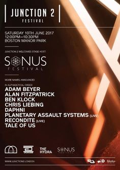 Junction 2 Festival Announce Sonus Festival Stage: Having recently announced two new stages for Junction 2 Festival 2017, organisers are…
