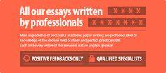 Essays written by professionals