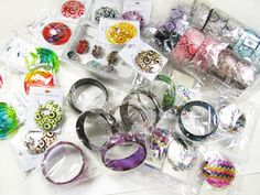 Missoni style earrings, Burberry style bracelets, faux python bracelets and more! SUPER DEAL!