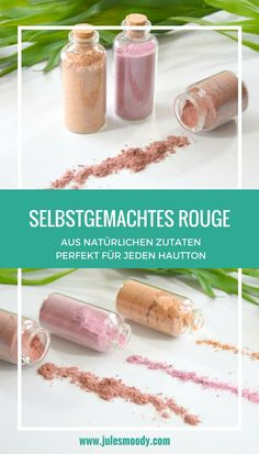Selbstgemachtes Rouge