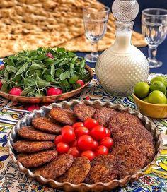 Afghanistan Food, Iran Food, Iranian Cuisine, Food Carving, Food Decoration, Food Platters, Arabic Food, Food Presentation, Food Design