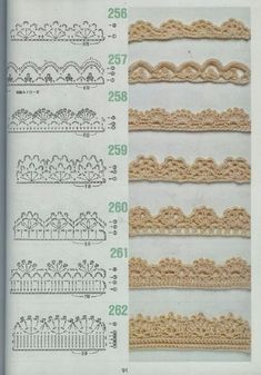 free crochet patterns for crochet borders Crochet Boarders, Crochet Edging Patterns, Crochet Lace Edging, Crochet Diagram, Crochet Chart, Filet Crochet, Diy Crochet, Crochet Designs, Crochet Stitches