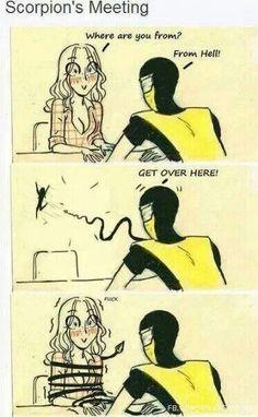 Flirting signs for girls pictures without glasses 2017 Mortal Kombat Comics, Mortal Kombat Memes, Mortal Kombat Art, Gamer Humor, Gaming Memes, Nerd Humor, Cute Comics, Funny Comics, Stupid Funny