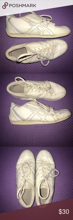 Asics cheer shoes Asics cheer shoes in great condition (everything I list, I clean before I sell!) Asics Shoes Athletic Shoes