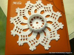 Snowy, everything and more !: candles port or crocheted coasters