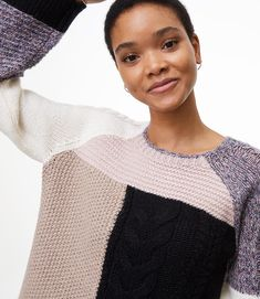 Get ready for the season with warm & cozy women's sweaters at LOFT. Whether you want a cute cardigan or a plush pullover, we have the perfect sweater for you! Hand Knitted Sweaters, Cozy Sweaters, Sweaters For Women, Feminine Fall Outfits, Casual Fall Outfits, Mom Outfits, Cute Outfits, Tunics For Sale, 70s Fashion Pictures