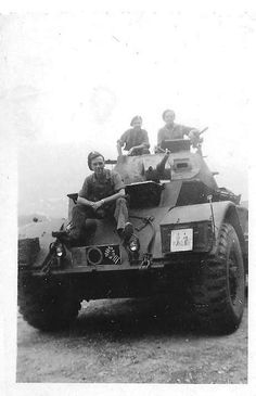 2nd Lothians and Border Horse Staghound Armoured Car.