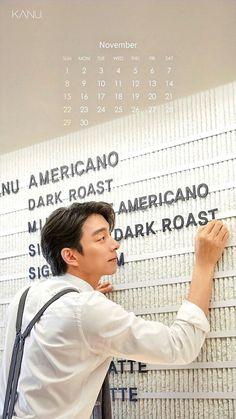 Gong Yoo, Korean Drama Movies, Korean Actors, Hyun Bin, Kdrama Actors, Goblin, December Calendar, November, Tablecloths