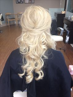 Wedding hairstyle by Ashley at Bukes Salon
