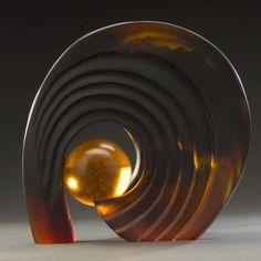"*Art Glass - ""Eye Wall"" by Brian Russell"