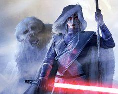 Kryrisa - Exiled Nightsister on Hoth