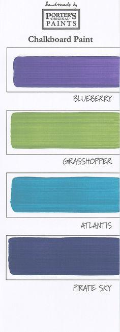 chalkboard paint color2 #칠판페인트