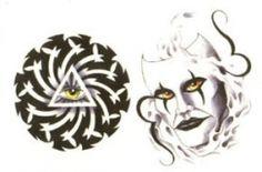 Mask & Mystic Eye (2 Tattoos)