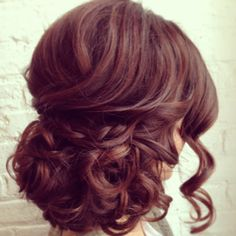 Soft bridal updo. #braids #bridalhairstyle #softcurls #hairstyle www.bridalbeautychicago.com