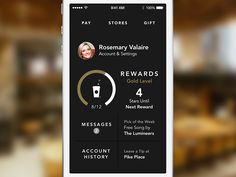 Dashboard for Starbucks 3.0 by Jesse Herlitz