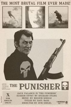 the Punisher (in the sixties) by Sean Hartter