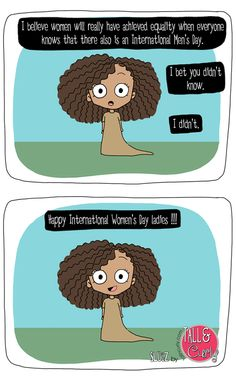 Tall N Curly - Slugz - International Women's Day #internationalwomensday #comic