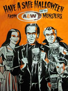 A Munsters trick or treat bag