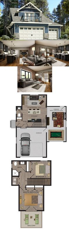 Beaver Homes & Cottages - Tidewater :: 998 sq.ft.