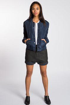 Koshka - Navy Quilted Jacket, $39.00 (http://www.shopkoshka.com/new-in/navy-quilted-jacket/)