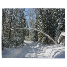 #Winter Time #Snow #Landscape Trees Nature #Jigsaw #Puzzles