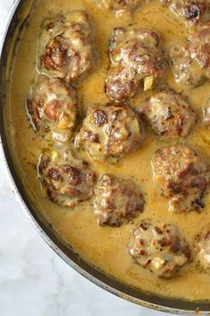 Easy Meatballs in Dijon Gravy Dinner Recipes beef recipes Beef Steak Recipes, Beef Recipes For Dinner, Crockpot Recipes, Cooking Recipes, Beef Meals, Loaf Recipes, Meatball Recipes, Drink Recipes, Cooking Tips