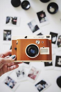 Lomo Instant com filme de Instax Mini no post do quadro From Me To You onde compartilho momentos especiais do meu mês no Serendipity.