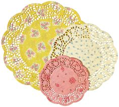 AmazonSmile: Talking Tables Truly Scrumptious Floral Doilies for a Tea Party, Birthday or Baking, Multicolor (24 Pack): Industrial & Scientific
