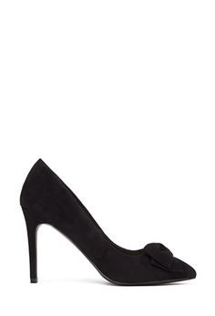 Faux Suede Bow Pumps | FOREVER 21 - 2000137005