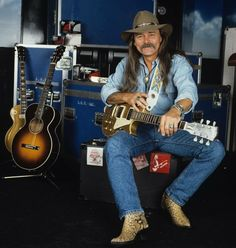 Dickey Betts:  There was a time, Ummm Emm...There was a time that I thought this man was the most badass, handsome Southern man; as good as it gets.  Lucky the woman who had him.  Started getting pissed when Greg Allman started touring without him. Guessing they had a fall out from recollection. But still, Dicky Betts, one of the best Southern Rock/Blues Guitarist in our lifetime.