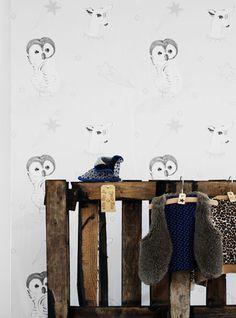 #Behang #babykamer | Wallpaper Onszelf OZ 3046