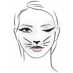 Cat (710 RUB) ❤ liked on Polyvore featuring beauty products, drawings and filler