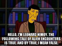 Is he telling the truth? #thesimpsons
