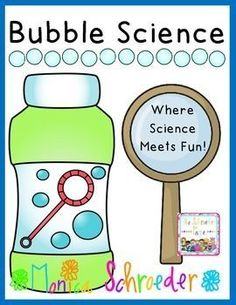 Take bubbles to the next level!  Everything you need to get bubbles science going in your classroom!