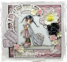 DeeDee´s Card Art: ♥ BirthdayBlogHop from Copic Marker Europe Blog!!! ♥