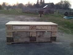 Pallet Benches | 1001 Pallets