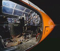 Bell X-1 Cockpit, 1947