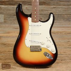 Fender Custom Shop Stratocaster 3-Color Sunburst 1999 (s669)