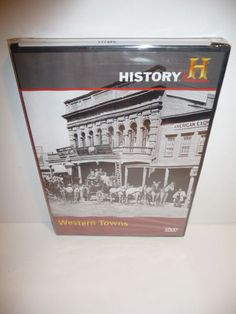 Western Towns (DVD, 2008)  New Sealed
