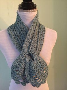 Bufanda piña en crochet