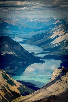 Maligne Lake at Jasper National Park, Alberta, Canada