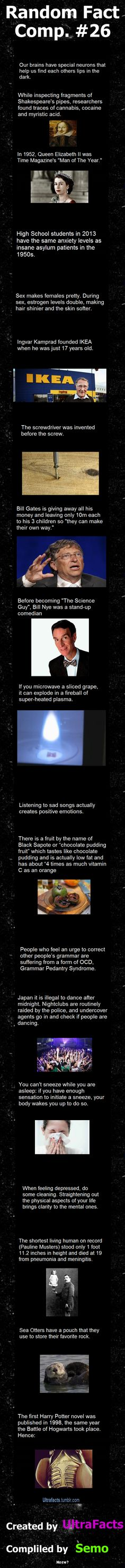Random Fact Comp. 26  // funny pictures - funny photos - funny images - funny pics - funny quotes - #lol #humor #funnypictures
