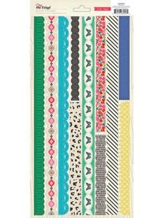 Crate Paper - On Trend - Border Stickers