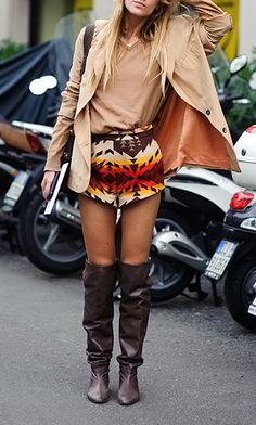fashforfashion -♛ STYLE INSPIRATIONS♛: bohoaztec Shorts!!