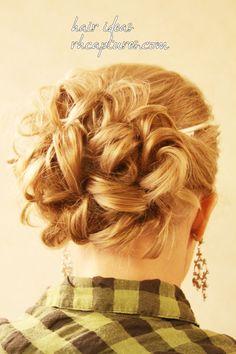 #hair #updos #weddings #hairideas @Sarah Steiner