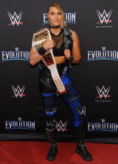 Demi Bennett is an Australian professional wrestler currently signed with the WWE, where she works in their developmental brand NXT UK under the ring name Rhea Ripley. She is the inaugural and current NXT UK Women's Champion in her first reign. Wrestling Divas, Women's Wrestling, British Wrestling, Nxt Divas, Total Divas, Wwe Lita, Martial, Wwe Female Wrestlers, Wwe Girls