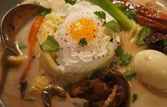 Asian-inspired Soup for Dinner. (Kim Beall Kortenbach)