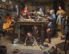 """Family Traditions"" by Morgan Weistling...one of my favorite artists, love his work"
