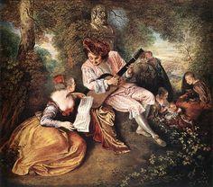 #Jean-Antoine #Watteau - The #Love Song